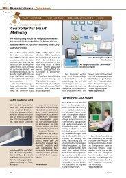 Controller für Smart Metering - Adyna
