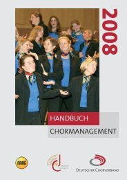CHORMANAGEMENT HANDBUCH