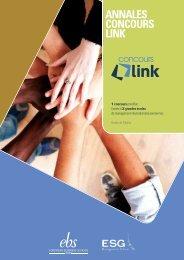 Téléchargez les annales (pdf) - Concours link