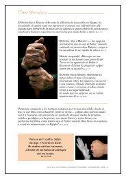 Manos humanas, la Mano de Dios (2).pdf - Orar con una Palabra
