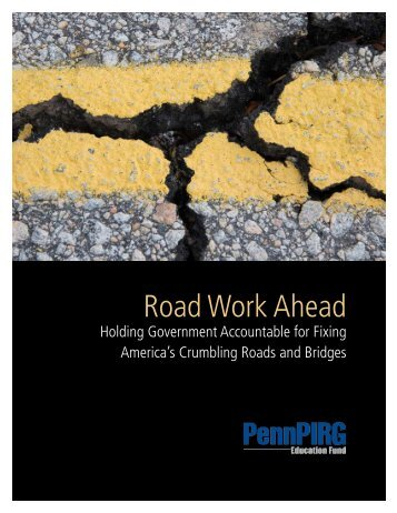 Road Work Ahead - Public Interest Network