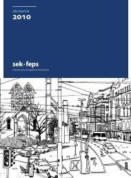 8. Jahresbericht 2010 - Schweizerischer Evangelischer ...