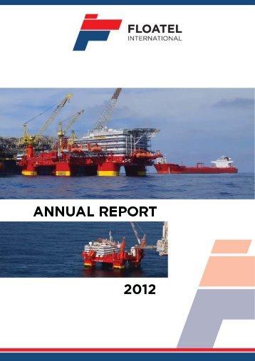 Annual Report 2012 - Floatel International