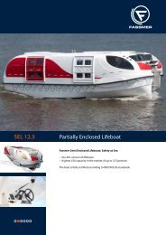 SEL 12.5 Partially Enclosed Lifeboat - Fr. Fassmer GmbH & Co. KG
