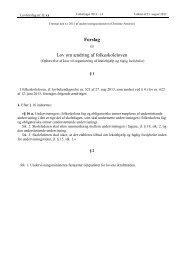 Lovforslag trin 2 - Net