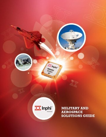 MILITARY AND AEROSPACE SOLUTIONS GUIDE - Inphi Corporation
