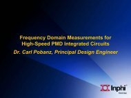 Frequency Domain Measurements for High-Speed PMD Integrated ...