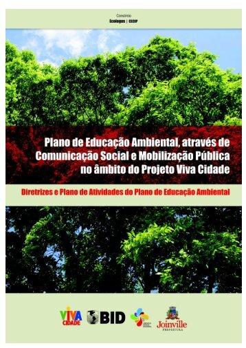 Diretrizes e Planos de Atividades do Plano de Educação Ambiental