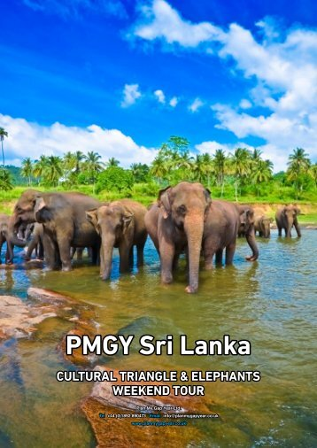 PMGY Sri Lanka - Plan My Gap Year