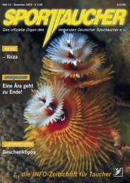... die INFO-Zeitschrift für Taucher - mick.com