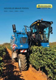 NOUVELLES BRAUD 9OOOL - New Holland