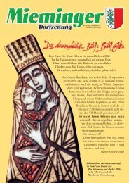 Mieminger Dorfzeitung Dezember 2006 (0 bytes) - Gemeinde ...