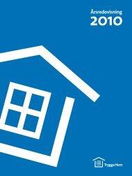 Årsredovisning 2010 - Trygga hem