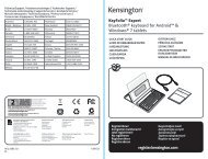 KeyFolio™ Expert Bluetooth® keyboard for Android ... - Net