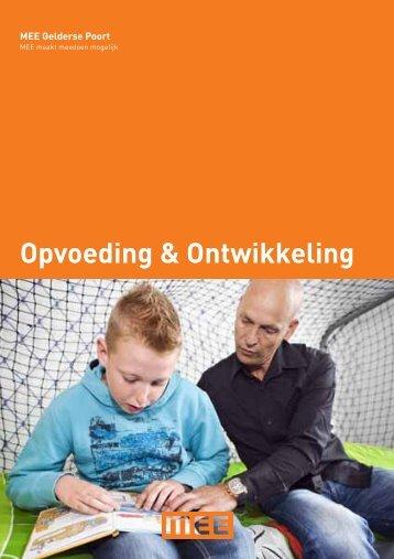 Cliëntfolder Opvoeding & Ontwikkeling - MEE Gelderse Poort