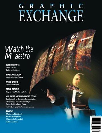 Macromedia Fireworks 2 - Graphic Exchange magazine
