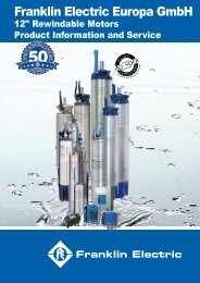 Product Catalog 12Rew.pdf - Franklin Electric Europa