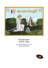 Dansk tekst og partitur - NORDISC Music & Text