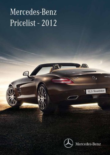 Mercedes-Benz Pricelist - 2012 - Mercedes-Benz Middle-East and ...