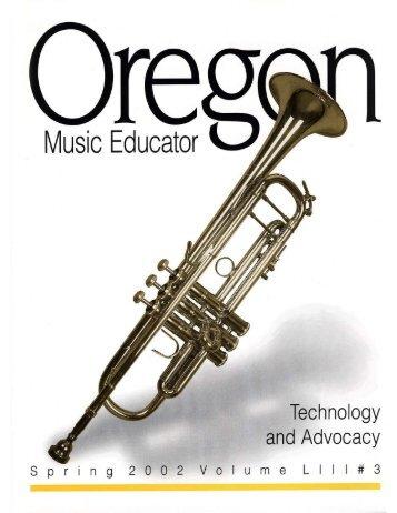 Spring - Oregon Music Education Association