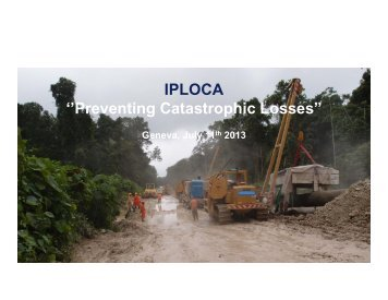 Debris flow - Iploca