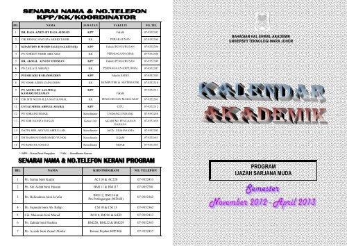 Program Ijazah Sarjana Muda Uitm Johor
