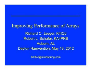 Improving Performance of Arrays - Kkn.net