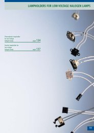 lampholders for low-voltage halogen lamps - bei ARDITI GMBH