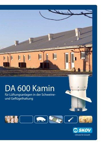 DA 600 Kamin - Skov A/S