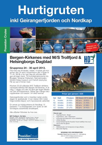 24 april Hurtigruten.pdf - Poseidon Travel