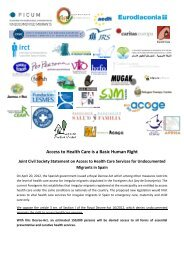 Access to Health Care is a Basic Human Right - PICUM