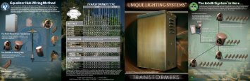 Transformers - Unique Lighting Systems