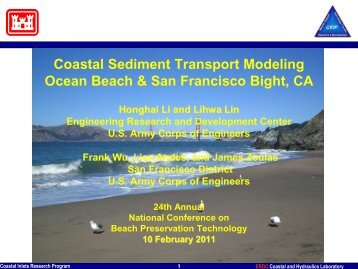 Sediment Transport Modeling and Application for Ocean ... - fsbpa