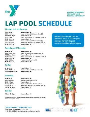 Appleton Ymca Pool Schedule Break Weeks August 26