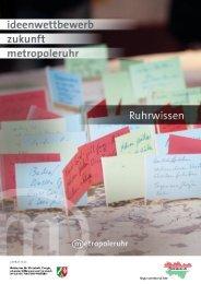 Dokumentation der eingereichten Projekte zum Ruhrwissen ...