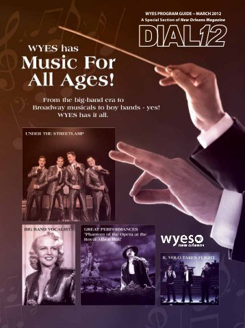 WYES ProgrAm guidE ~ mArch 2012