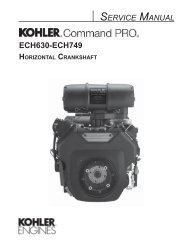 5 - Kohler Engines
