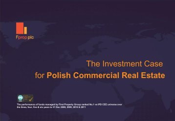 Macroeconomics - First Property Group plc
