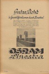 Osram-Linestra in Siabform, als Viertel- und Achtelkreise, bieten die ...
