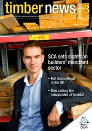 TimberNews - SCA Forest Products AB