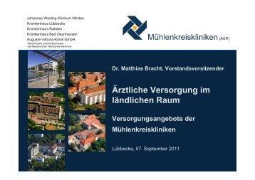Krankenhaus Bad Oeynhausen - Kreis Minden Lübbecke