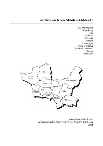 Archive im Kreis Minden-Lübbecke