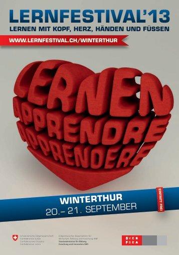 Programm aller Angebote in Winterthur - IBP Institut