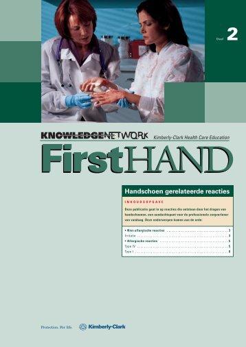 Handschoen gerelateerde reacties - Kimberly-Clark Health Care