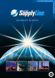 RELIABILITY IN SUPPLY - Global Supply Line
