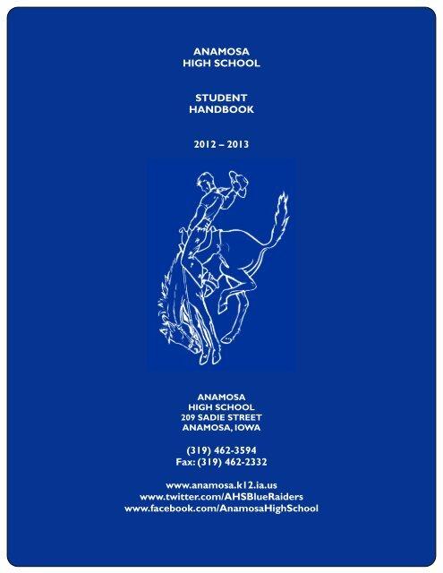 2012-2013 AHS Handbook - Anamosa Community School District
