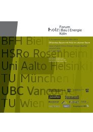 Programm DE (PDF) - Forum-HolzBau