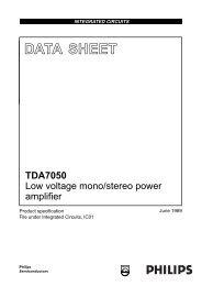 Tda7050 Datasheet Pdf Download