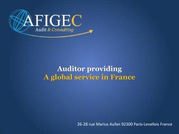 AFIGEC Auditor - A Global Service in France - PrimeGlobal