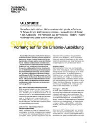PDF Swisscom - Customer Experience Forum